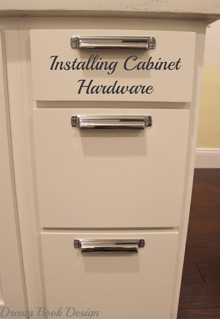 how to install kitchen cabinet hardware tutorial dream book design. Black Bedroom Furniture Sets. Home Design Ideas
