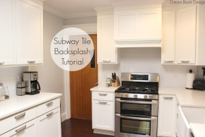 Easy DIY Subway Tile Backsplash Tutorial