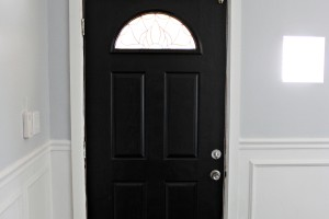 Our High Gloss Black Front Door