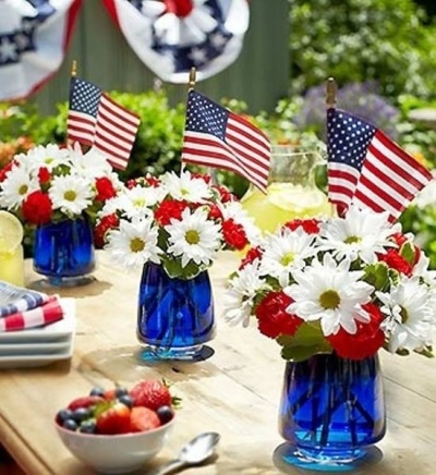 memorial day centerpiece