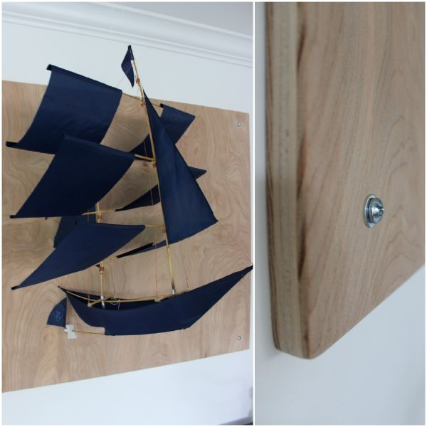 sail boat wall art