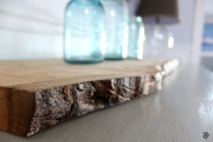 DIY Wooden Slice Tray