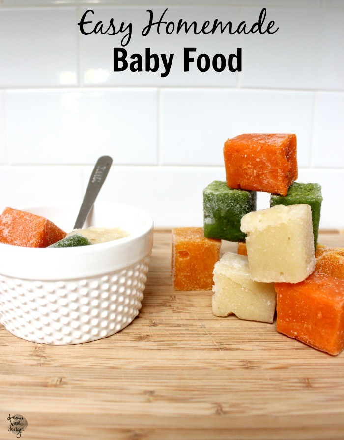 Homemade baby food dream book design homemade baby food forumfinder Gallery