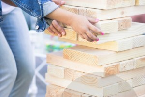 How to DIY a Large Jenga Game