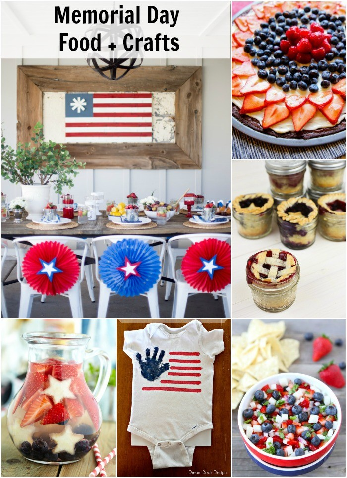 memorial day food and craft