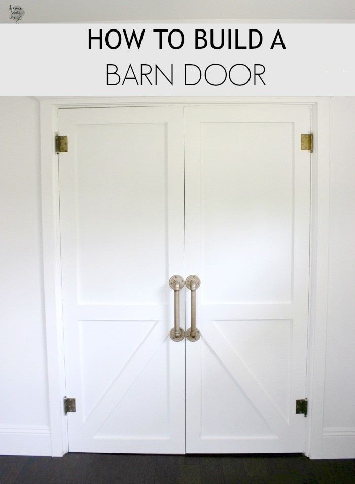 Beau How To Build A Barn Door DIY