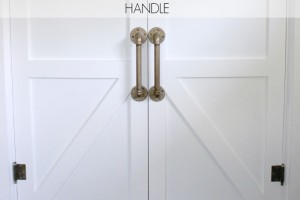 How To DIY An Industrial Pipe Door Handle