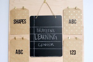 DIY Kids Activity Board