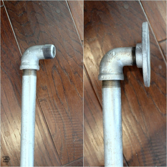 diy pipe door handle