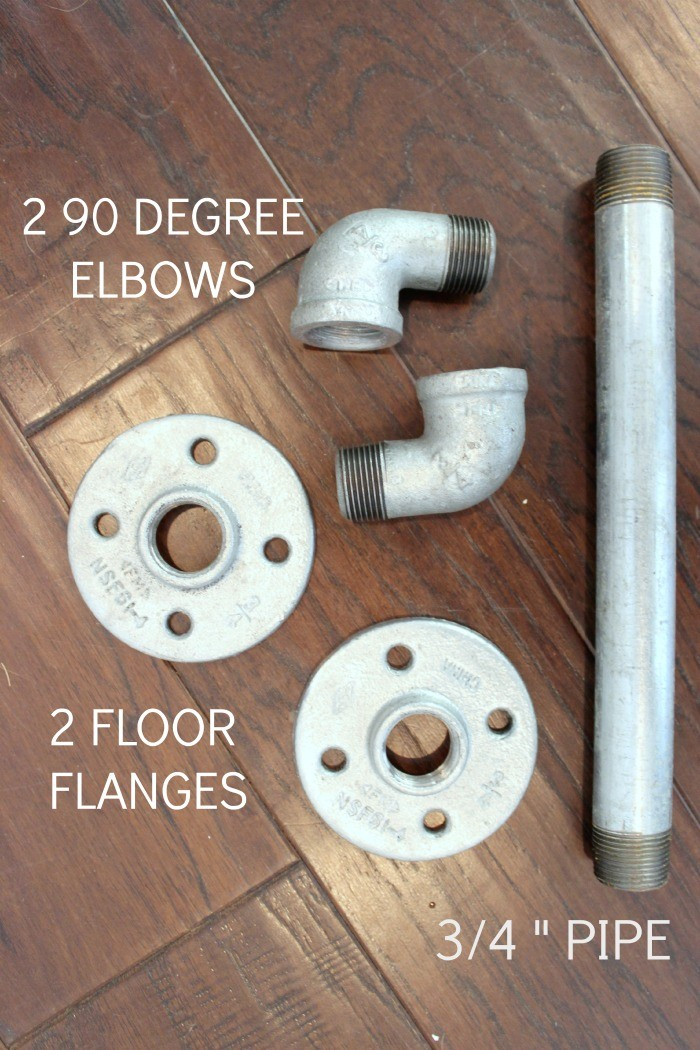 How To DIY An Industrial Pipe Door Handle - Dream Book Design