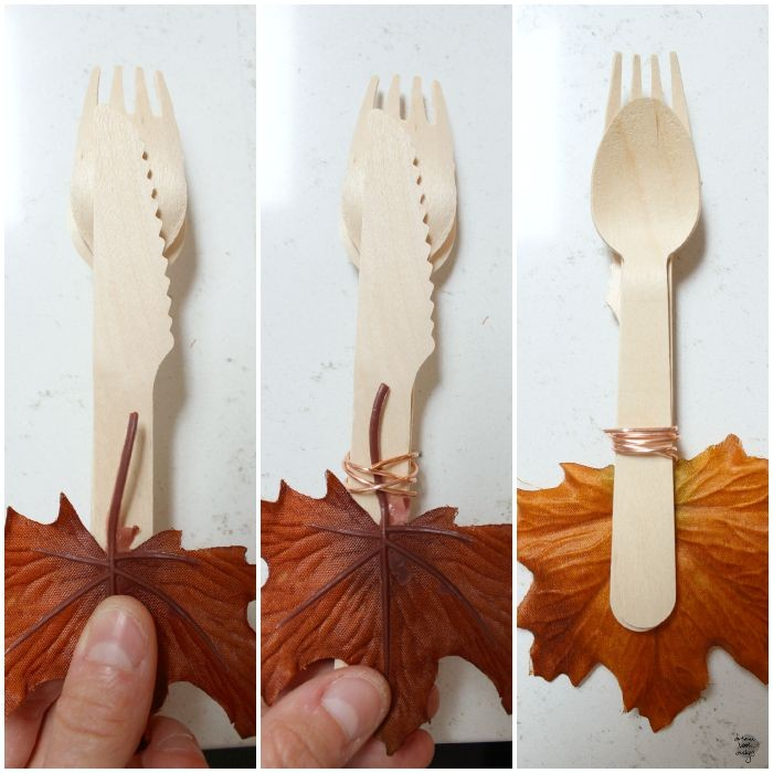 diy silverware set holder / dreambookdesign.com