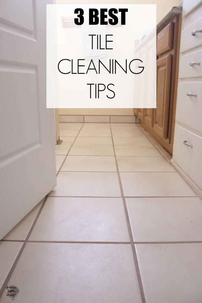 tile cleaning tips