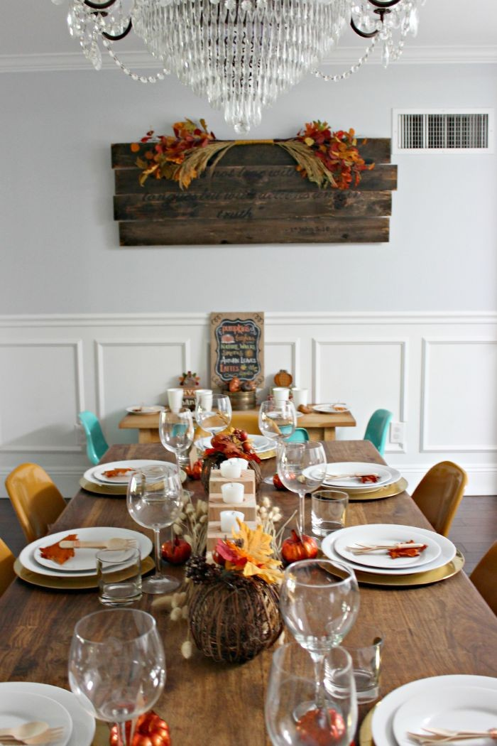 fall tablescape / dreambookdesign.com