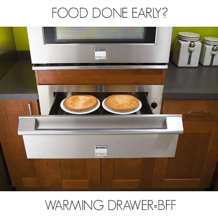 kenmore pro warming drawer