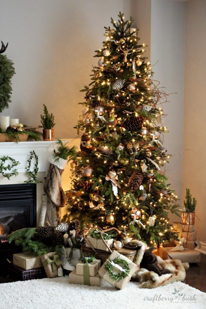 balsamhillchristmastreetourcraftberrybush4 - Christmas Tree Decorating Ideas 2015