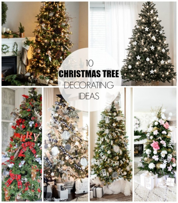 christmas tree decorating ideas  dreambookdesign.com