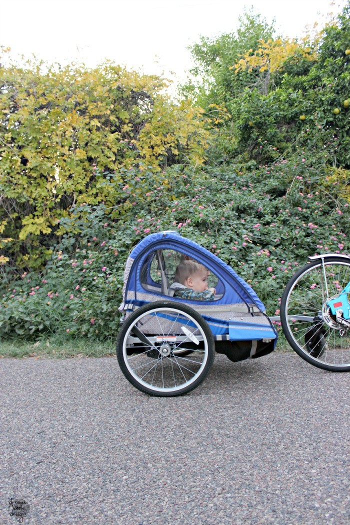 schwinn bike trailer review
