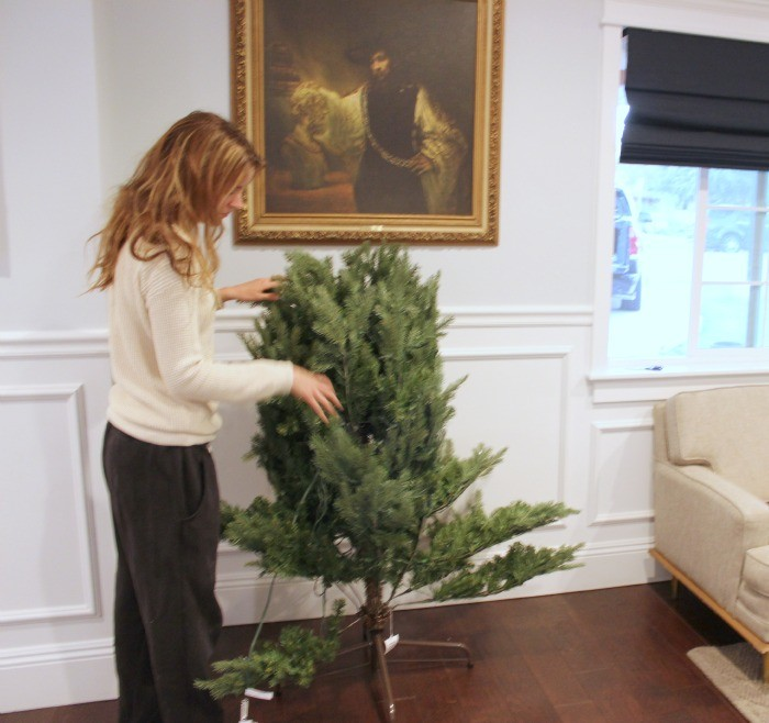 how to decorate a christmas tree / dreambookdesign.com