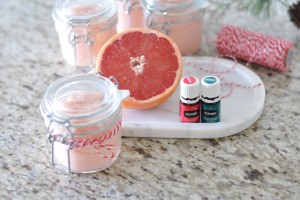 Peppermint Grapefruit Sugar Scrub Recipe