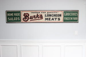 A New Vintage Sign