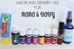 Essential Oils for Labor and Delivery