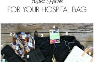 10 Must Haves For Your Hospital Bag: Mommy Edition