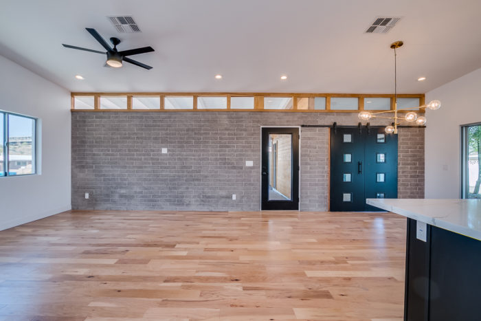 This Space Has SO Much Natural Light, That Even IF We Did A Bad Design Job,  It Would Still Look Good. Haha, Not That We Ever Plan On Doing A Bad Job;)